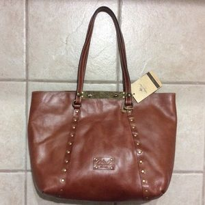 Patricia Nash Benvenuto tote Tan color